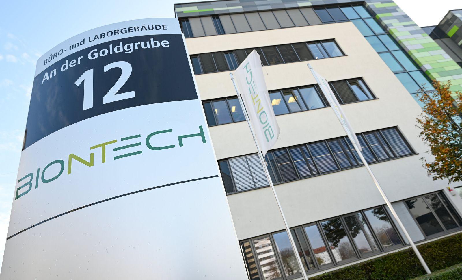 Biotechnologie-Unternehmen Biontech in Mainz