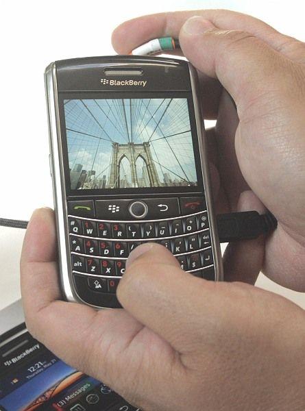 Hochgestuft: Die Aktien des Blackberry-Herstellers Research in Motion