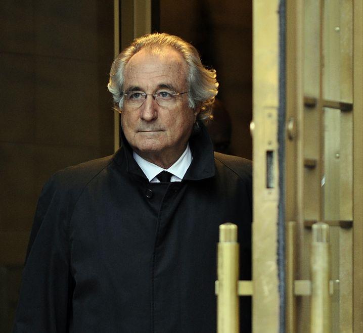 Jahrhundertbetrüger: Die einst gefeierte Wall-Street-Legende Bernie Madoff im Jahr 2009