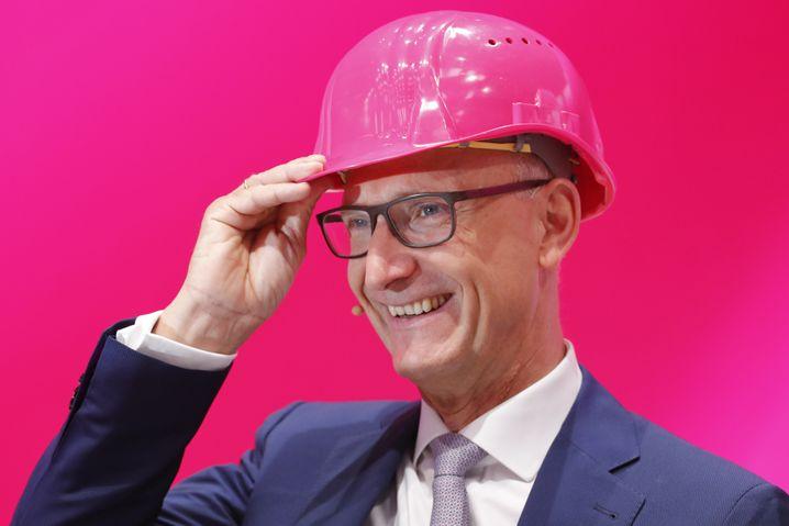 Telekom-Chef Tim Höttges