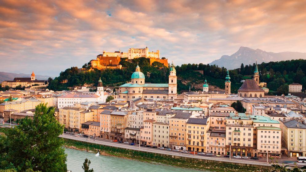 Salzburg: Idyllische Altstadt, köstliche Kugeln