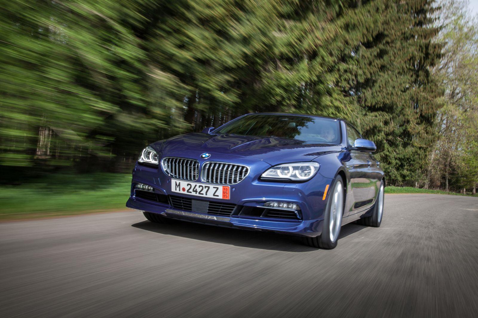 BMW ALPINA B6 xDrive Gran Coupe LCI / Fahrt