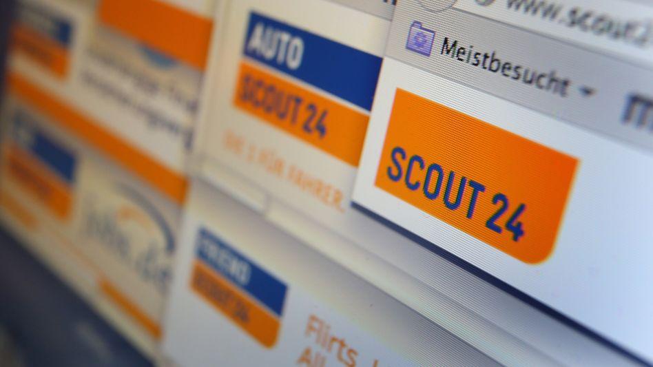 Immobilien und Autos laufen auf den Onlinemarktplätzen von Scout24 gut