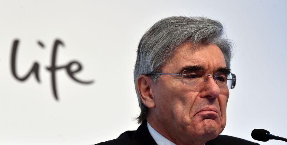 Operativ schwächer, Nettogewinn halbiert: Siemens-Chef Joe Kaeser wird heute die Zahlen zum jüngsten Quartal erläutern