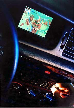 """Navigationssystem im Auto: """"Freundlicher als so mancher menschliche Beifahrer"""""""