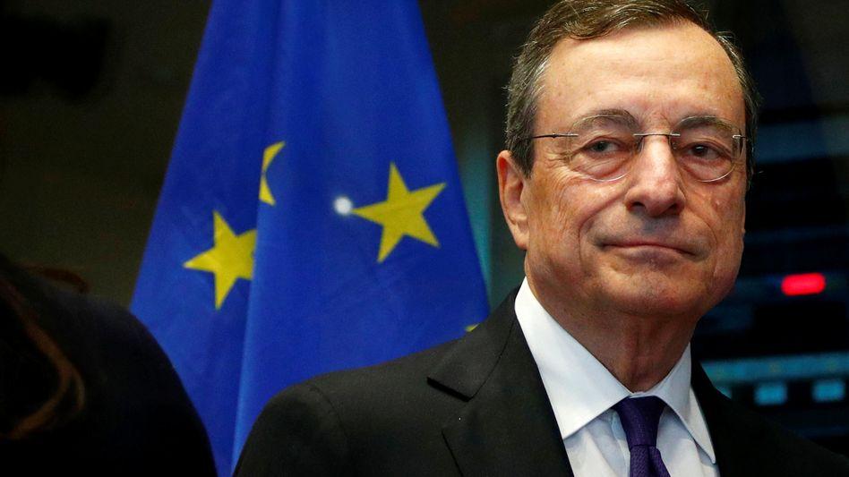 Mario Draghi: Die Niedrigzinspolitik des scheidenden EZB-Chefs ist umstritten