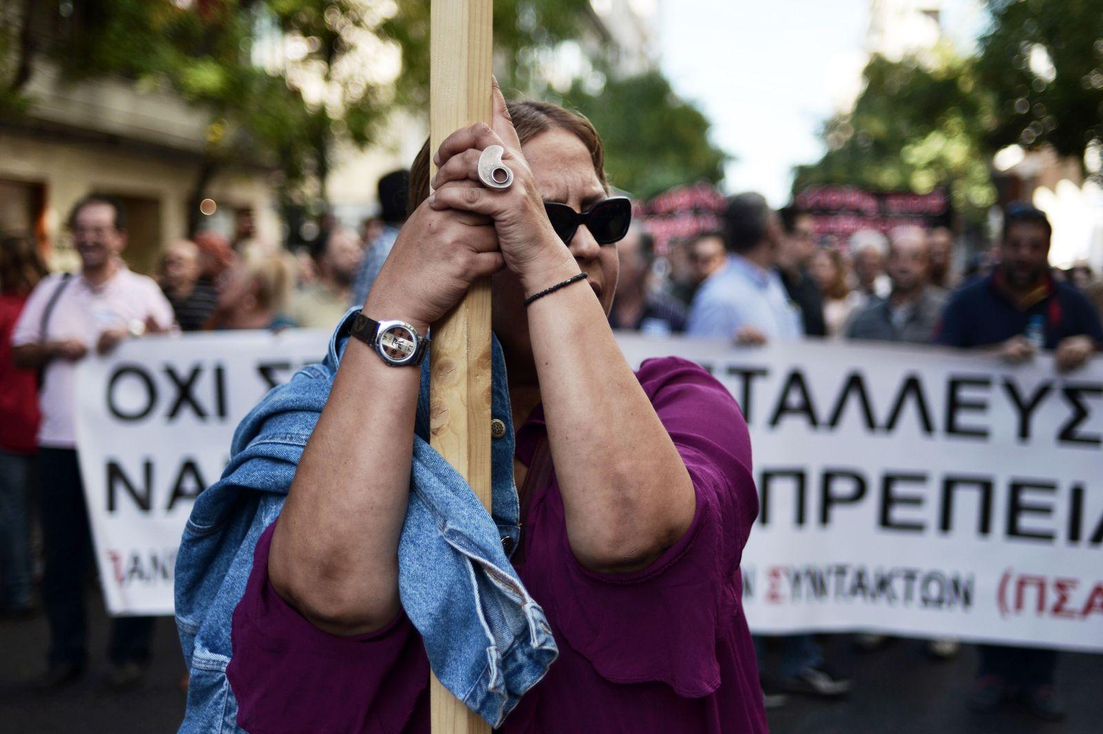 Griechenland / Streik