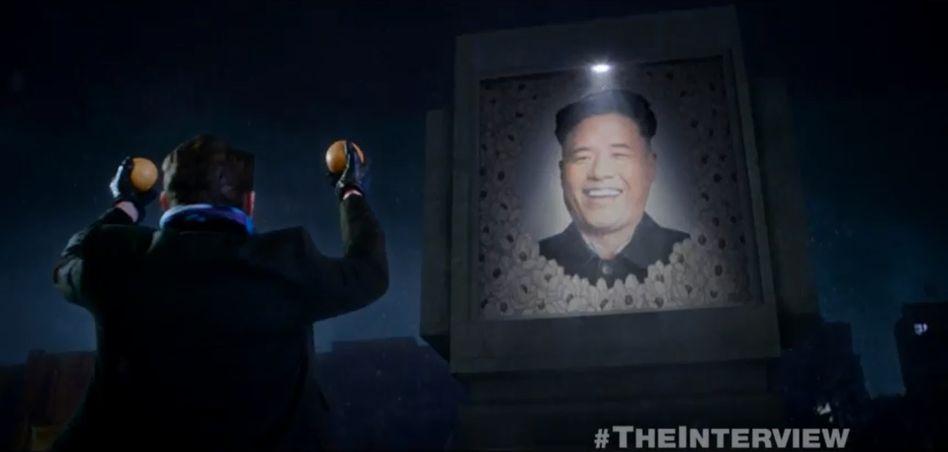 "Mit Burgern gegen Kim Jong Un: James Franco als TV-Journalist mit Mordabsichten in ""The Interview"""