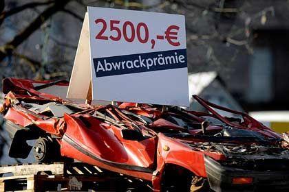Kurzfristiger Impuls: 2010 wird der Neuwagenverkauf wegen der Abwrackprämie stark schrumpfen