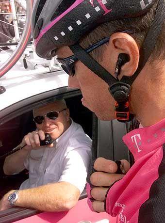Tour de France: Funkgeräte bis auf weiteres im Einsatz