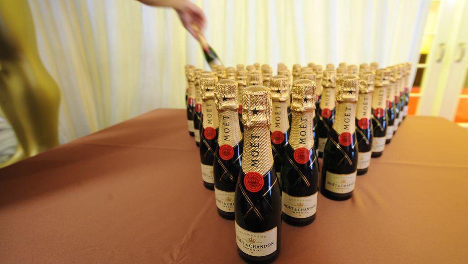 Champagner von LVMH: Der Konzern selbst ist für das laufende Jahr zuversichtlich
