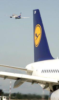 Im Zeichen des Kranich: Vor der Übernahme von Austriandurch die Lufthansa sollen beide Unternehmen Zugeständnisse machen