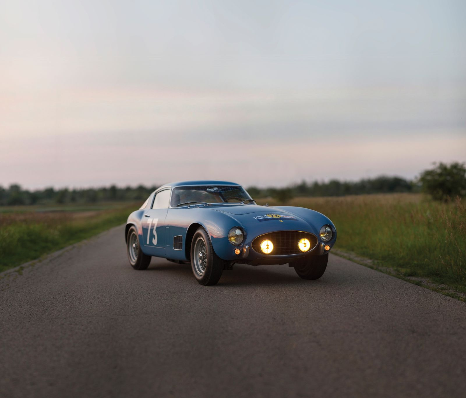 The 1956 Ferrari 250 GT Berlinetta Competizione