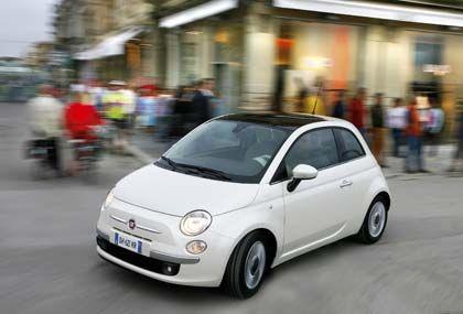 Flotter Flitzer für die Stadt: Fiat legt mit dem 500er einen Klassiker neu auf.