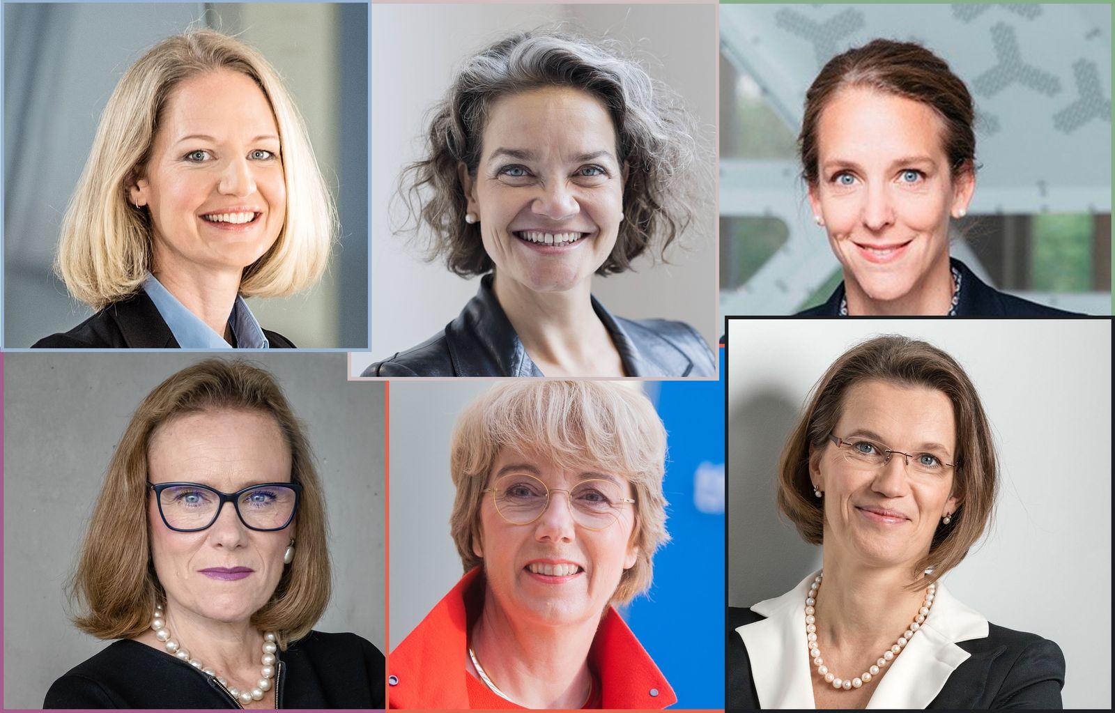 KOMBO Frauen 2020 / Anna Maria Braun / Claudia Nemat / Finja Carolin Kütz / Belen Garijo / Martina Merz / Britta Fünfstück