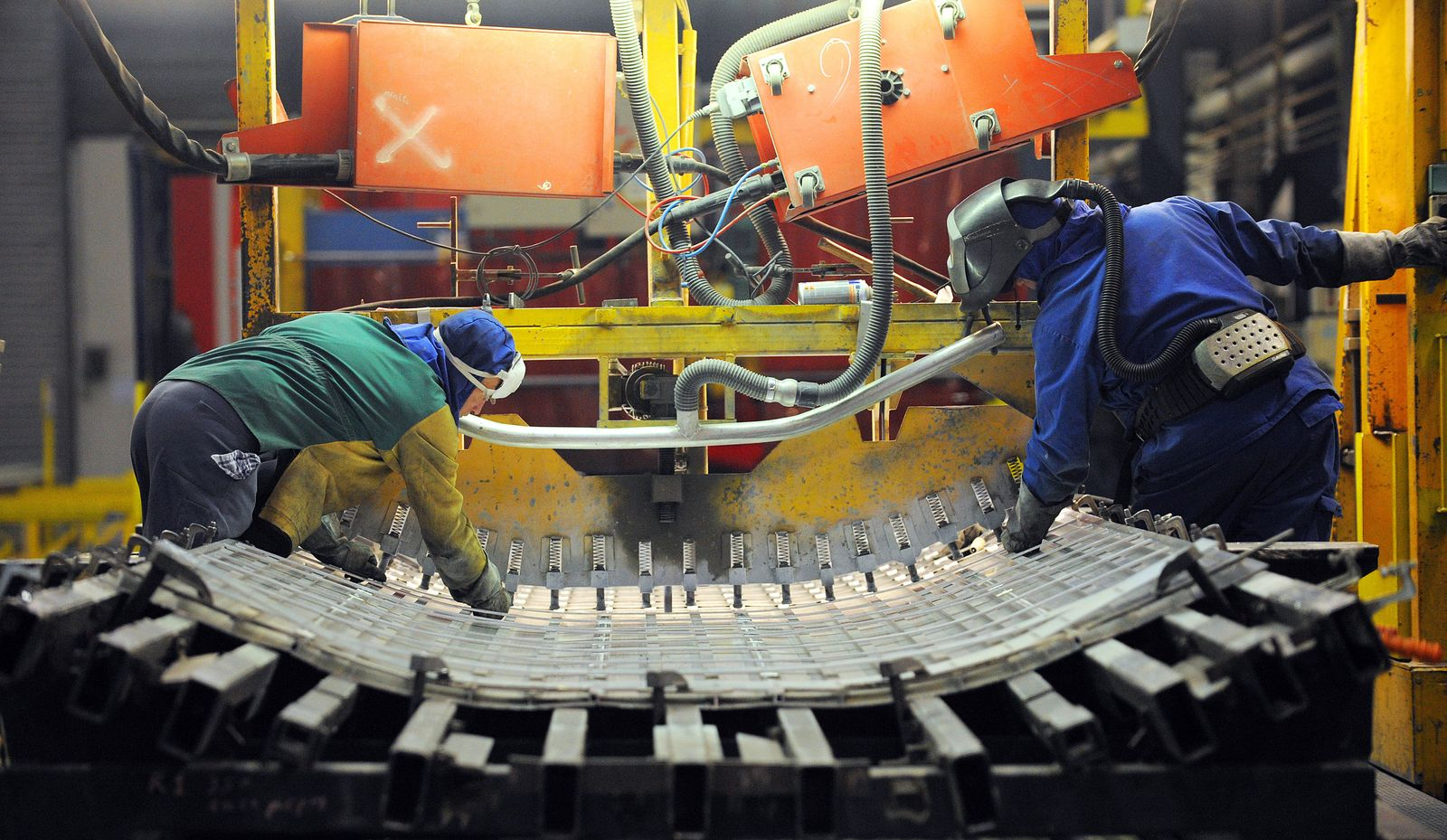 Frankreich / Alstom / Industrie / Produktion / Werk / Fabrik