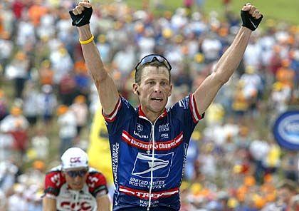 Lance Armstrong: Triumph beim Pyrenäen-Finale