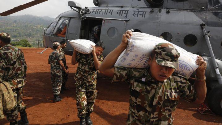 Erbeben in Nepal: Schwierige Versorgungslage