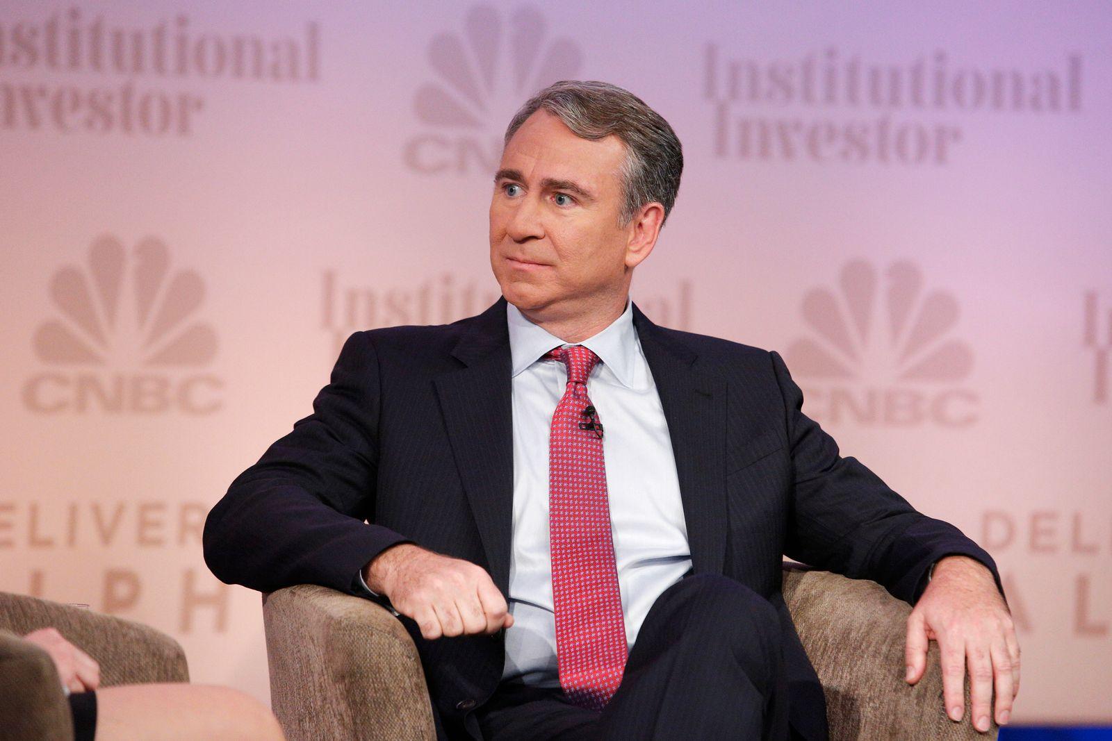 EINMALIGE VERWENDUNG Hedgefondsmanager Ken Griffin; CEO Citadel