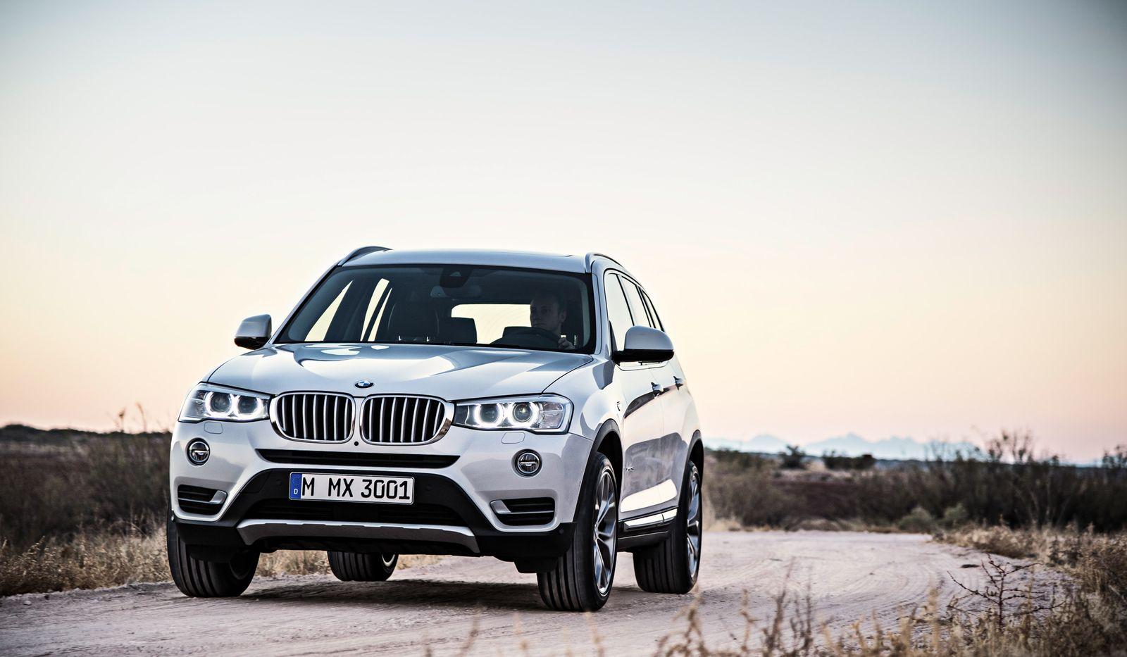BMW X3; moodbild