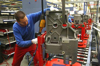 """Maschinenbau: """"ungewöhnlich starken Abkühlung"""""""