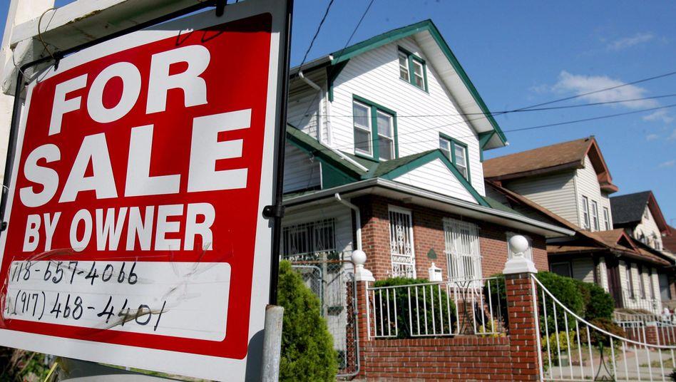 Zu verkaufen: So sah das Platzen der Immobilienblase in den USA aus.