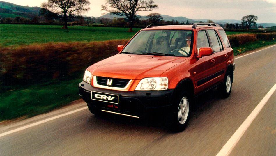 Honda CR-V5: Ähnlich wie bei diesem Auto handelt es sich bei dem betroffenen Modell um einen Kompaktvan