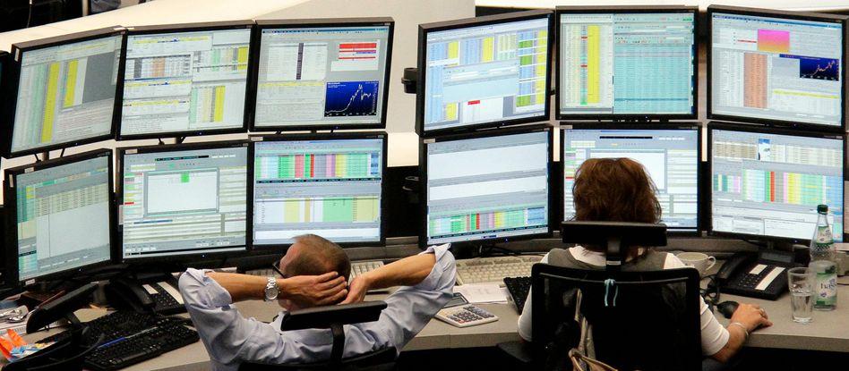 Händler in Frankfurt: Wieder schlechte Stimmung am Aktienmarkt