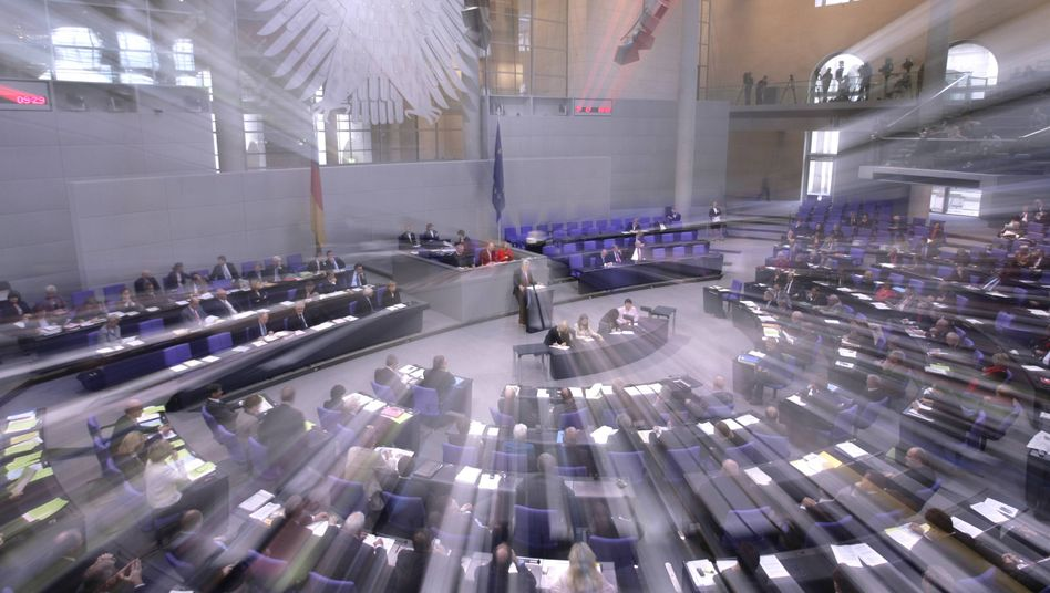 Hort der Akademiker: Der Deutsche Bundestag