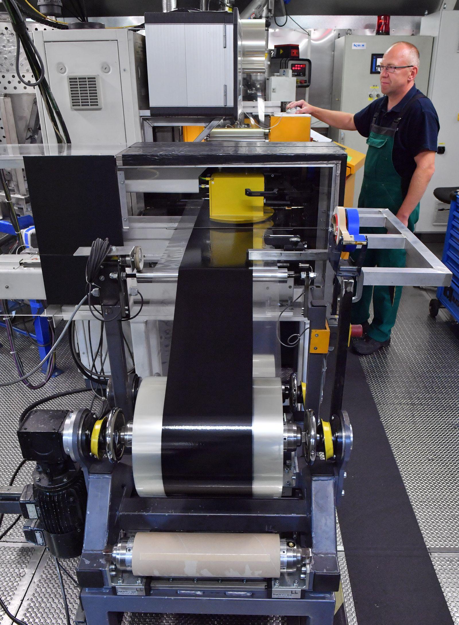 Batteriezellenproduktion in Thüringen