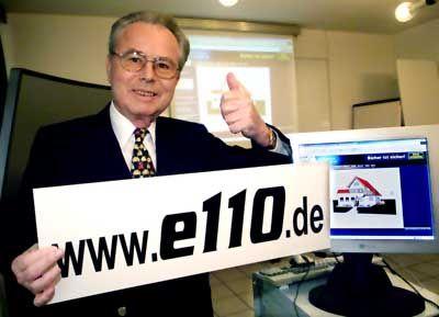 Kriminaler Netzberater: Eduard Zimmermann