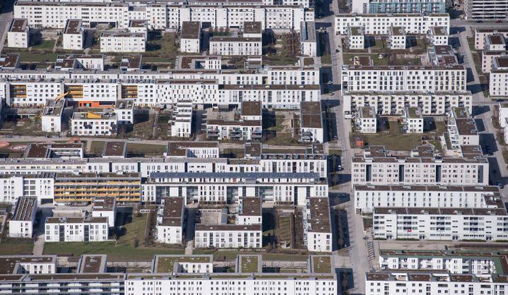 Wohnblocks in München