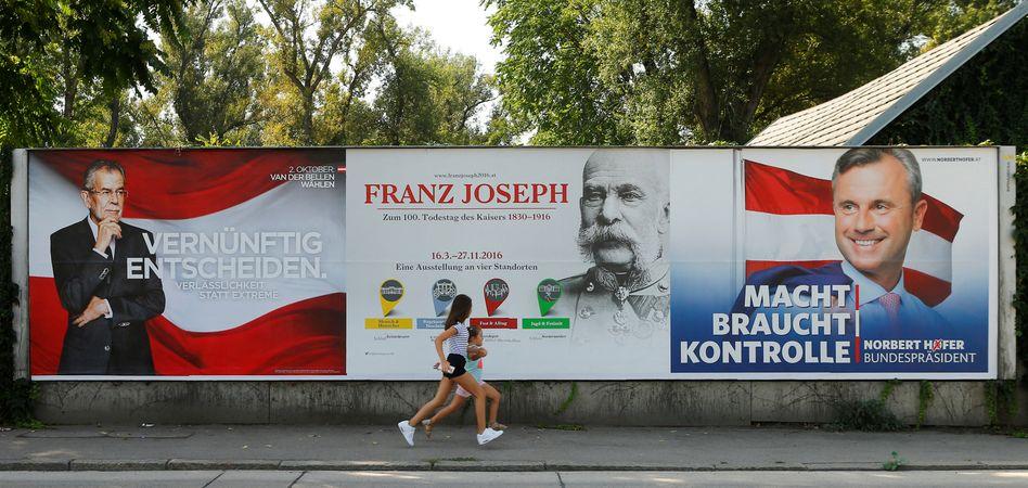 Wahlkampf in Österreich: Norbert Hofer hat eine Wahlwiederholung erzwungen. Doch nun muss die Wahl erneut verschoben werden