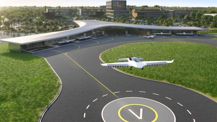 Flugtaxi: Diese Unternehmen wetteifern um die City-Fluggeräte der Zukunft