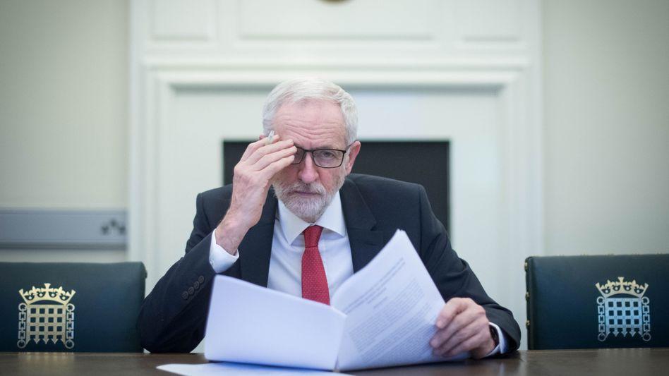 Großbritanniens Labour-Chef Corbyn