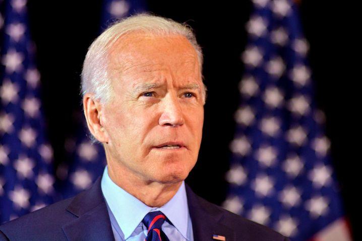 """Ex-Vizepräsident Joe Biden und Rivale von Donald Trump wirft dem US-Präsidenten """"Machtmissbrauch"""" vor"""