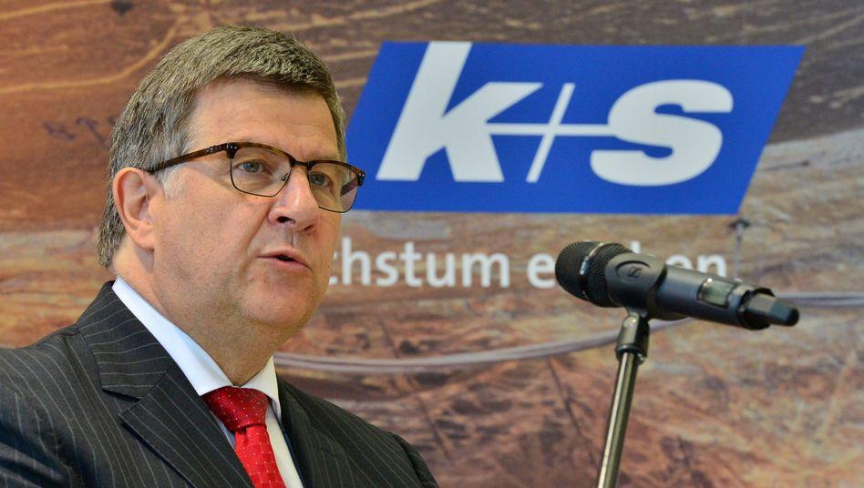 Norbert Steiner: Der K+S-Chef geht spätestens im Mai 2017. Gerüchte, dass er bereits in diesem Jahr abgelöst wird, ließen am Mittwoch die K+S Aktie deutlich steigen