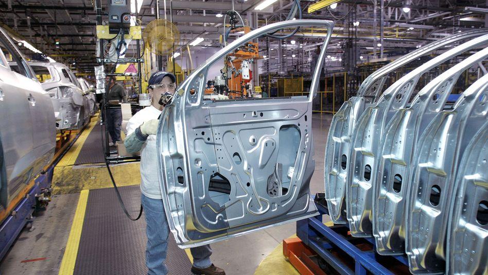 Produktion bei General Motors: Der Autobauer übernimmt 3000 IT-Spezialisten von HP - um beim Thema Innovationen am Lenkrad zu bleiben