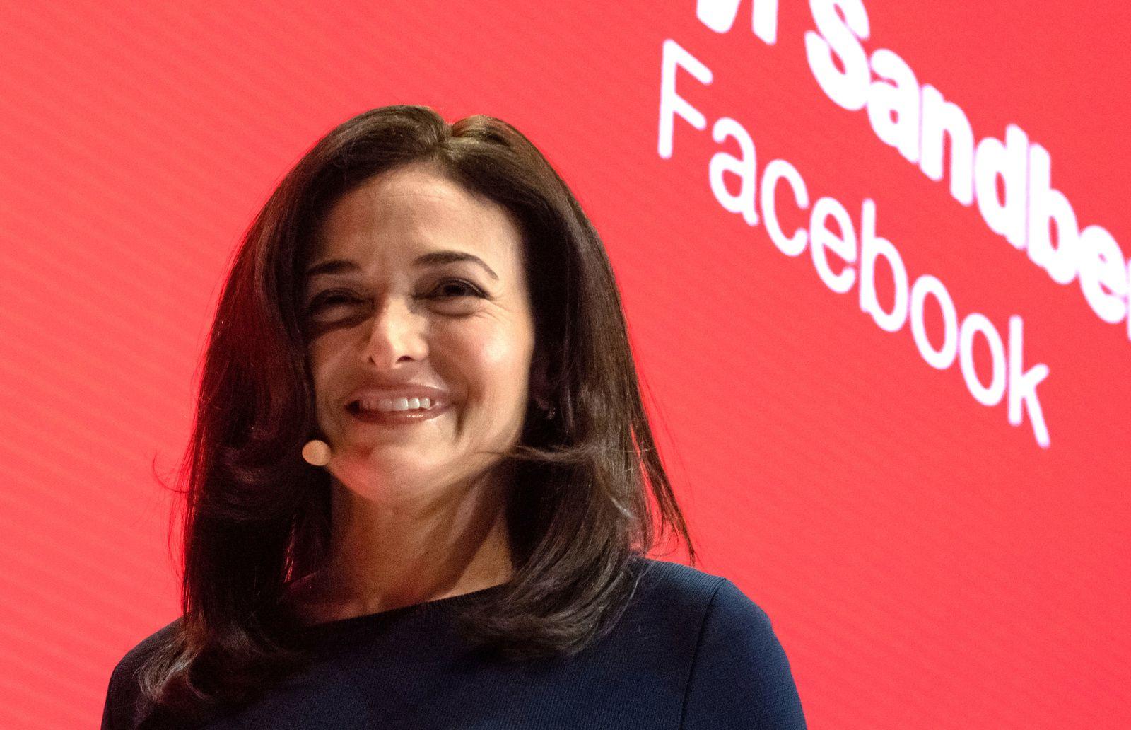 Facebook-Geschäftsführerin Sandberg