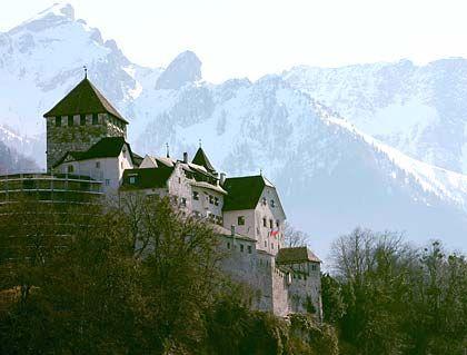 Zufluchtsort: Manche Steuersünder verwahren ihr Vermögen in Liechtenstein