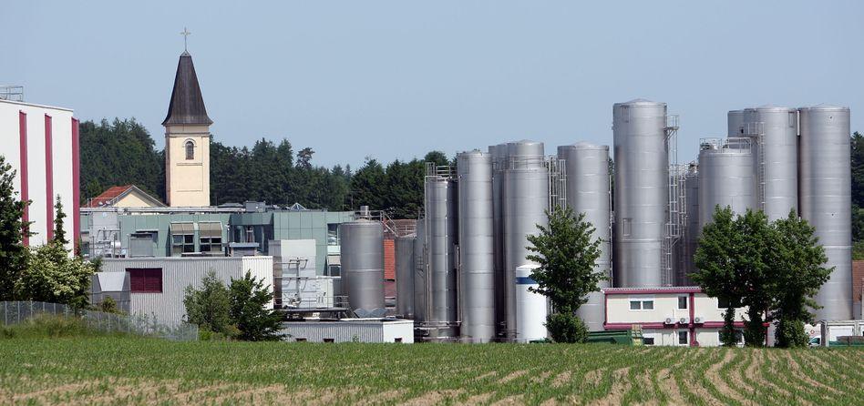 Müller-Produktion in Aretsried bei Augsburg: Die Molkerei will den US-Markt erobern