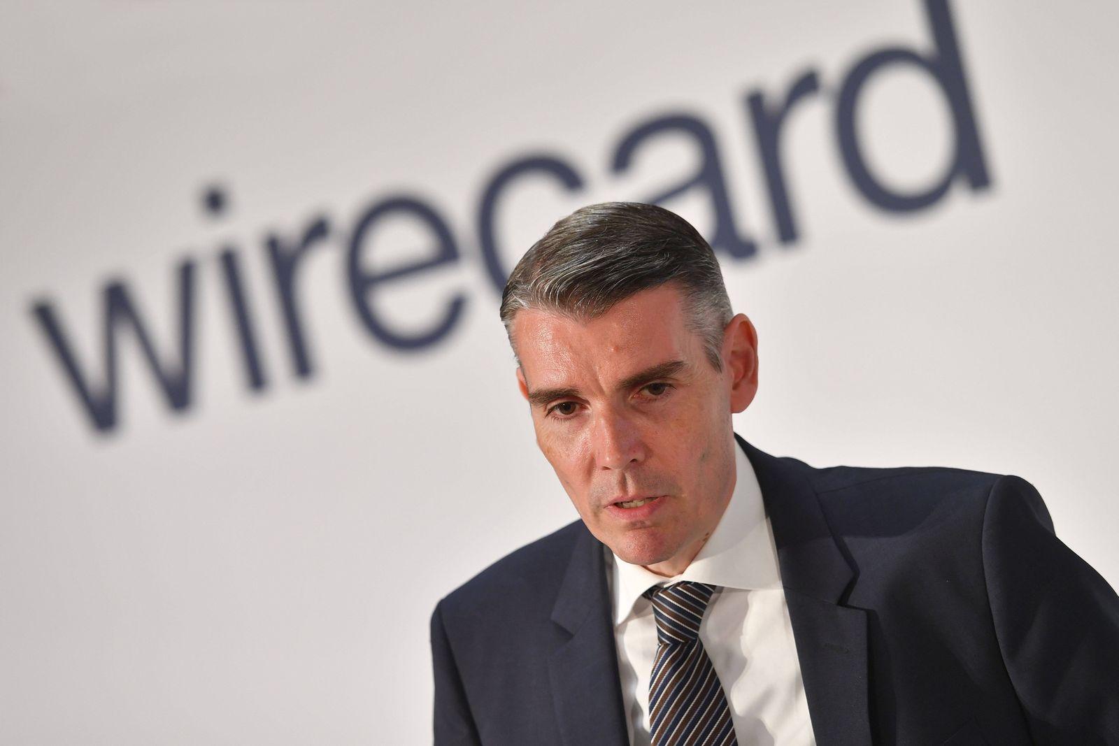 Wirecard verteilt intern die Zustaendigkeiten neu und entmachtet Chef Markus Braun. Der Zahlungs?dienst?leister reagiert