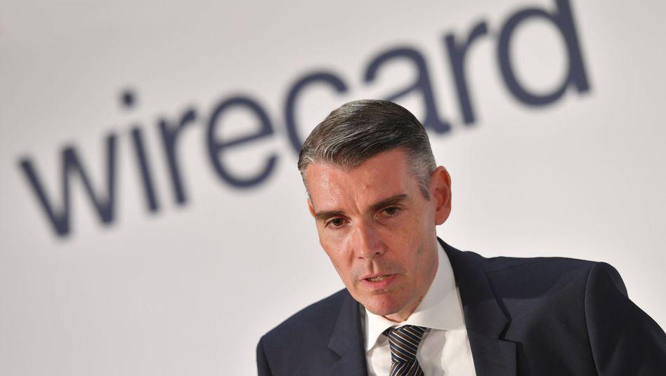 Gibt sich unwissend: Der ehemalige Wirecard-Finanzvorstand Alexander von Knoop hat heute vor dem Untersuchungsausschuss ausgesagt