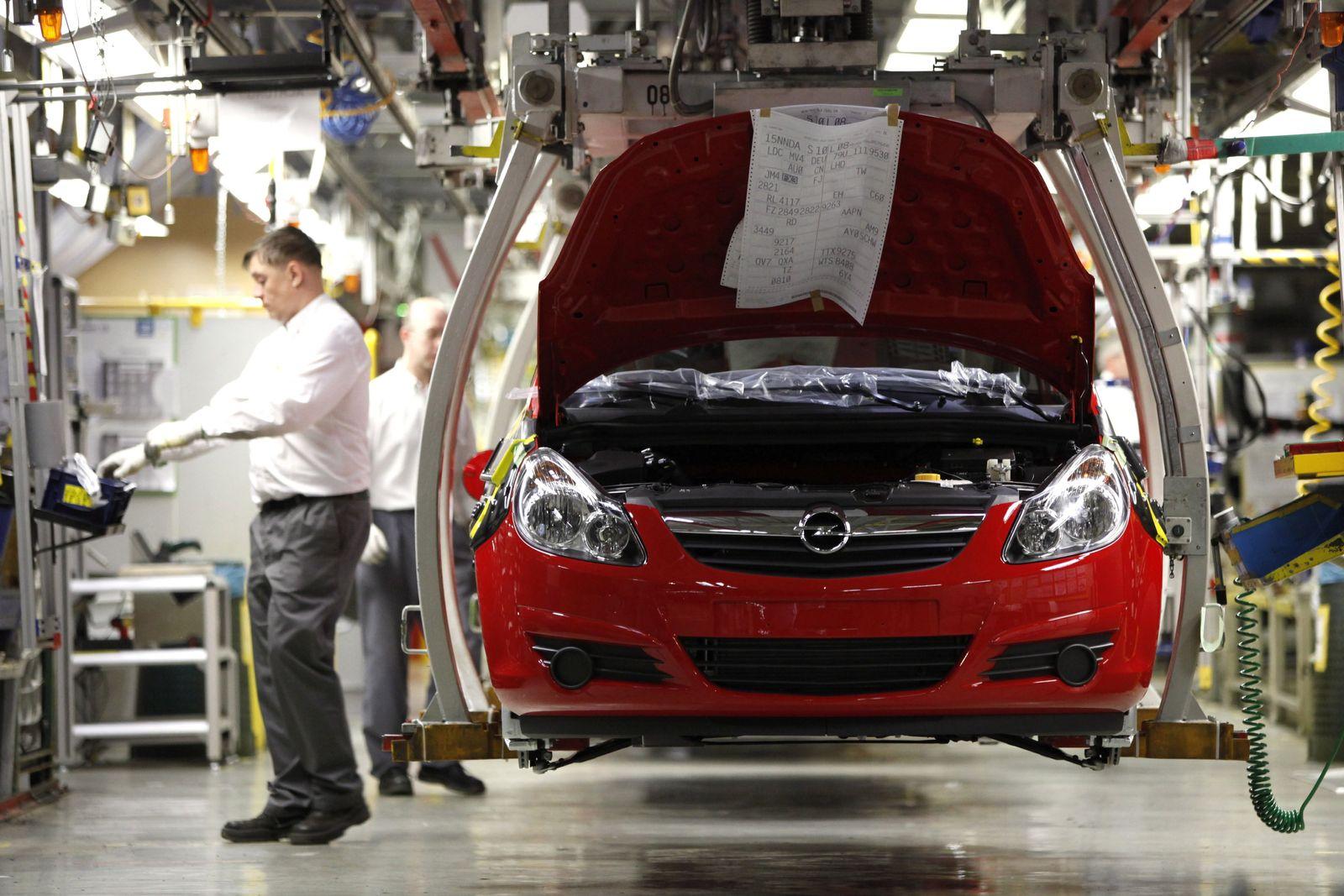 NICHT VERWENDEN Thueringen sichert als erstes Bundesland Opel Staatshilfen zu