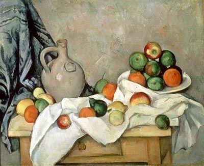 Impressionistische Kunst, wie dieses Gemälde von Cezanne, stehen auf Griffins Einkaufsliste