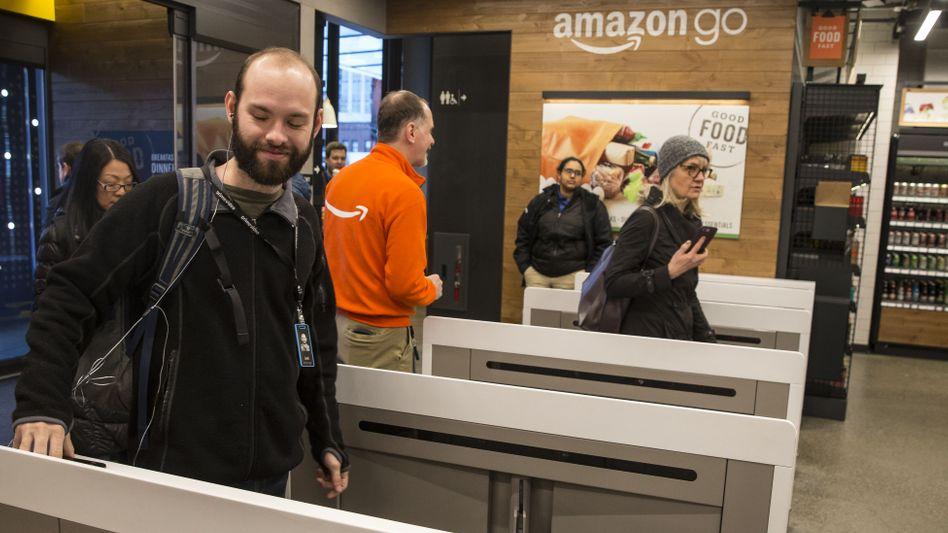 Amazon Go: Auf den Testladen ohne Kassen in Seattle sollen 3000 weitere Läden folgen