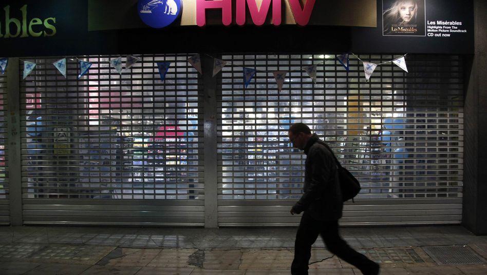 HMV-Filiale in London: Das Unternehmen wurde 1921 gegründet