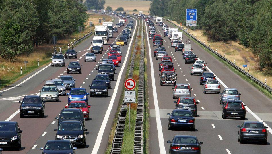 Autobahn 24 bei Kremmen: Weniger Verkehrstote zuletzt hierzulande