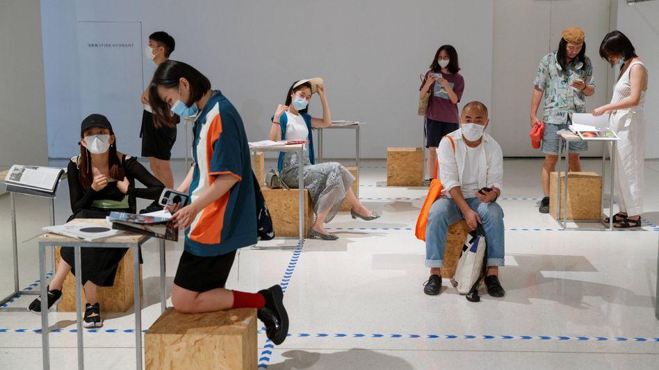 Unabhängige Buchmesse: Die Leser strömten zur abC Art Book Fair nach Peking, um die Werke von 140 unabhängigen Verlagen zu durchstöbern und zu kaufen