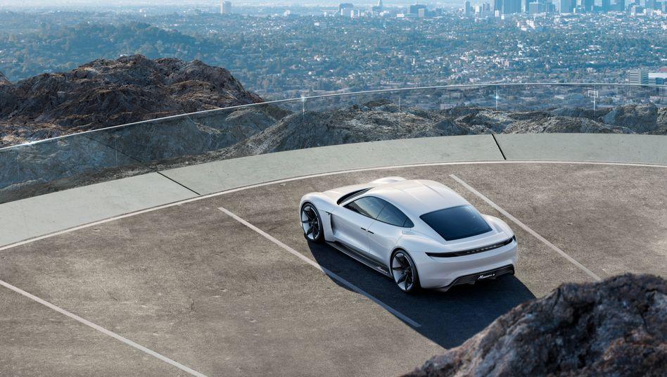 Erwartungsträger: Porsches Elektrosportwagen Mission E soll 2019 für den nächsten Wachstumsschub sorgen